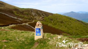 Camino-marker-Pyrenees-Camino-de-Santiago-the-French-Way